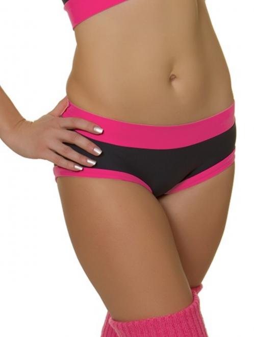 Shorts Maria Grey Raspberry XL- Pole Candy Wear