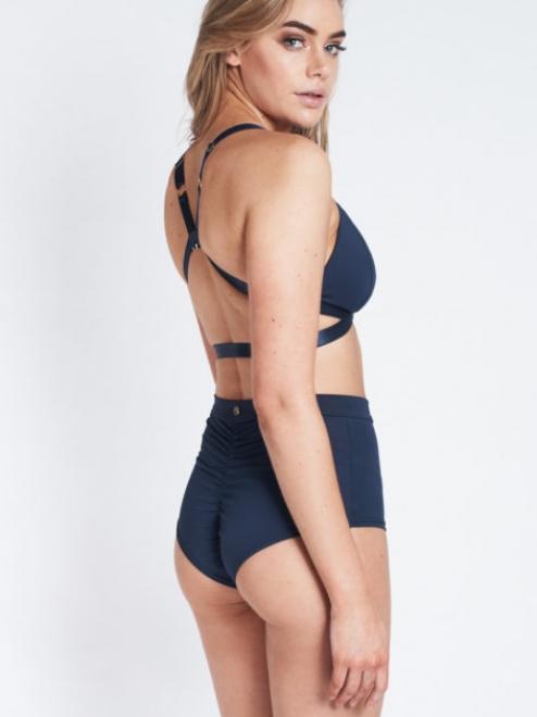 High Waist Basic Shorts – Azul Marino