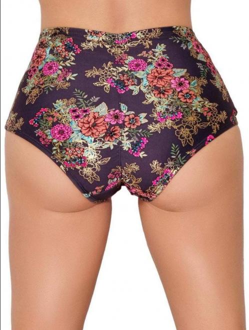 Gunmetal Garden High Waisted Shorts – CLEO THE HURRICANE